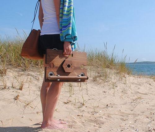 Mini Portable Beach Table Awesome Stuff 365