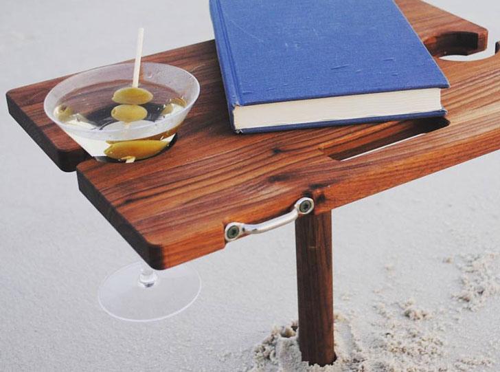 Mini Portable Beach Tables