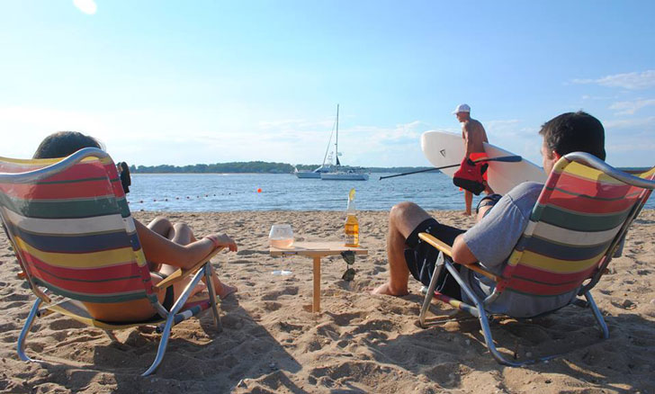 Mini Portable Beach Table