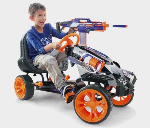 Nerf Battle Go Cart