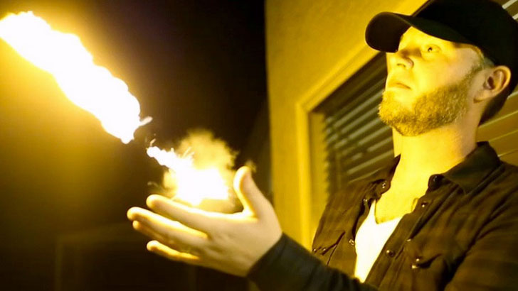 pyro fireball shooter