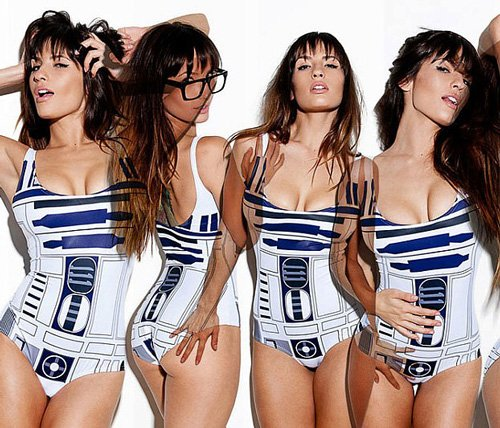 Sexy R2-D2 Swimsuit