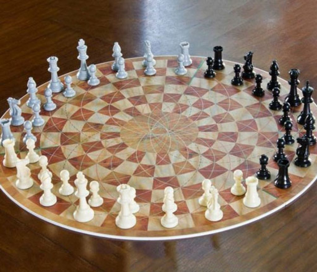 Amazoncom 3 Man Chess Toys amp Games