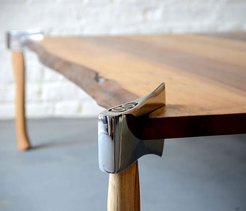 Woodsman Axe Coffee Table