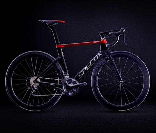 smart aero road bike - speedx - leopard