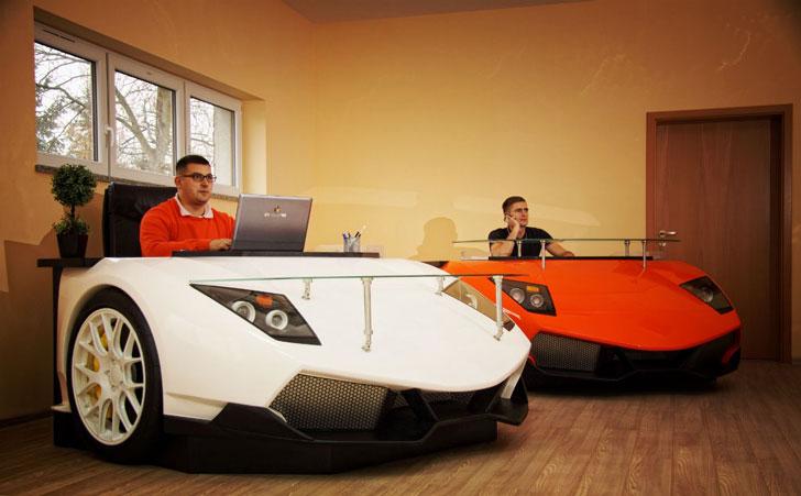 Lamborghini Desk