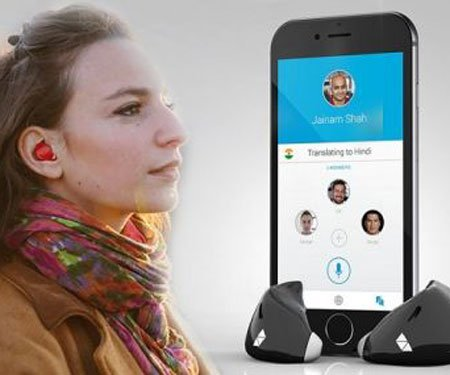 Language Translation Earpiece Device