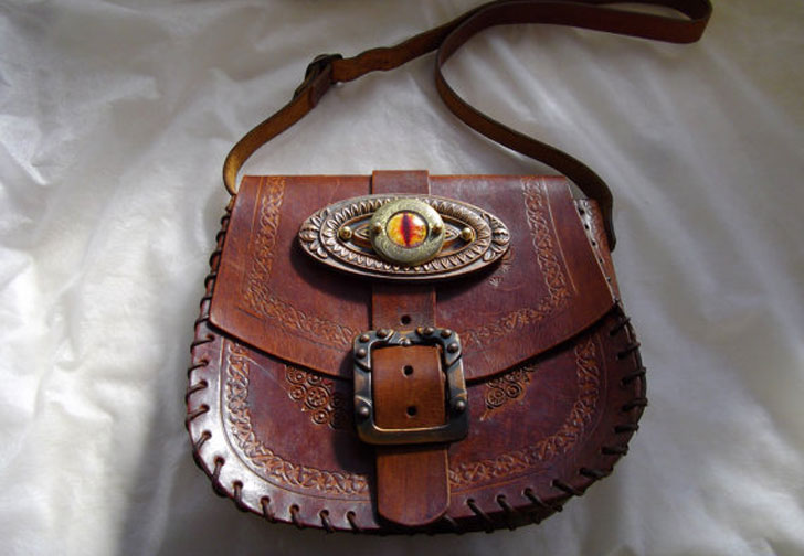 Leather Steampunk Bag - Steampunk Gifts For Her