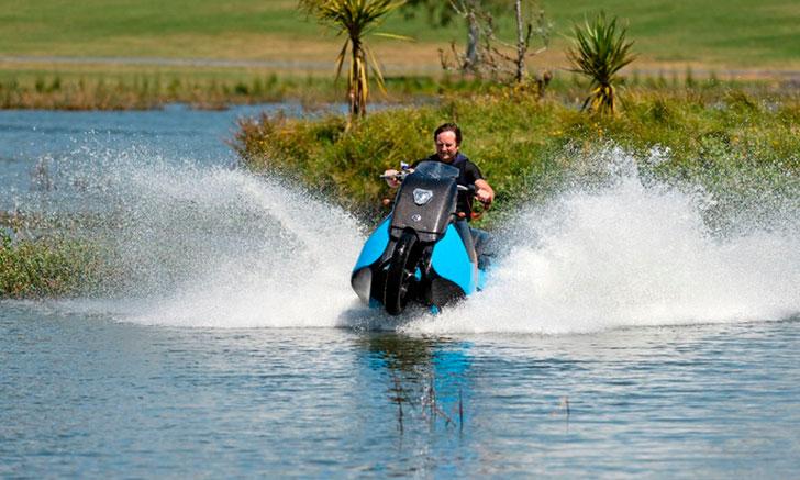 Motorcycle Jet ski Hybrid