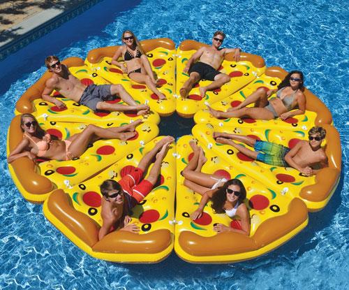 Pizza Slice Pool Floats