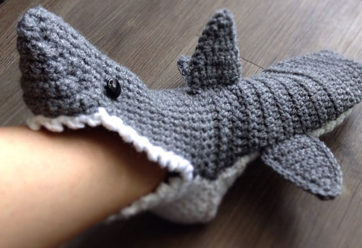 Shark Slippers Awesome Stuff 365
