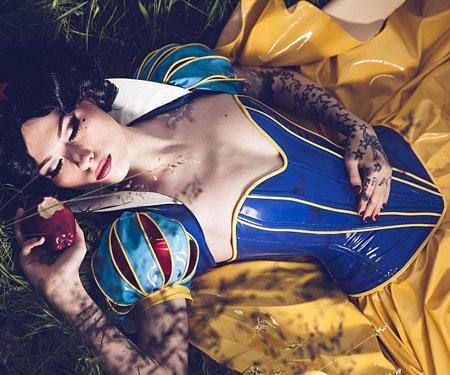 Snow White Vinyl Costume