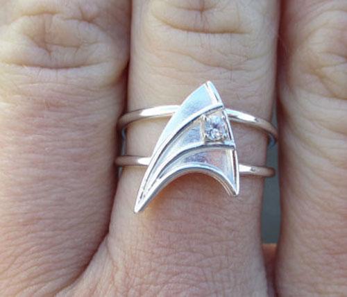 Star Trek Engagement Ring