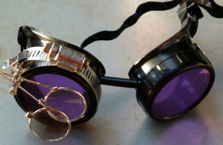 Steampunk Apocalyptic Mad Scientist Goggles - Steampunk Gifts For Her