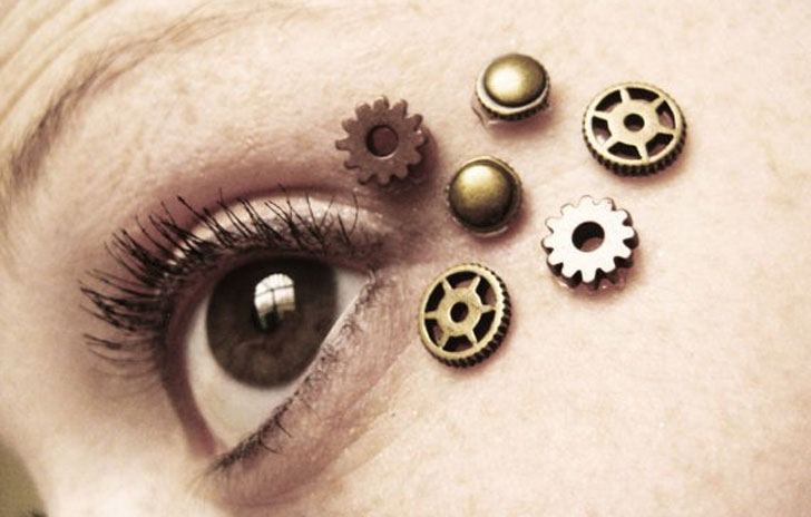 Steampunk Eye Decals - Steampunk Gifts For Her