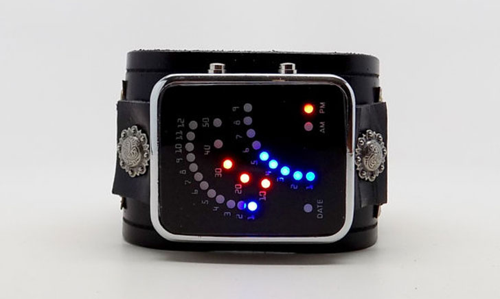 Steampunk LED Watch - Steampunk Gifts For Her