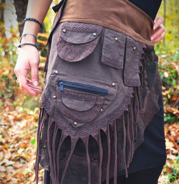 Steampunk Skirt Belt - Steampunk Gifts For Her