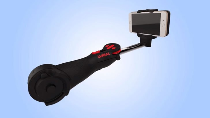 World's First Automated Selfie Stick