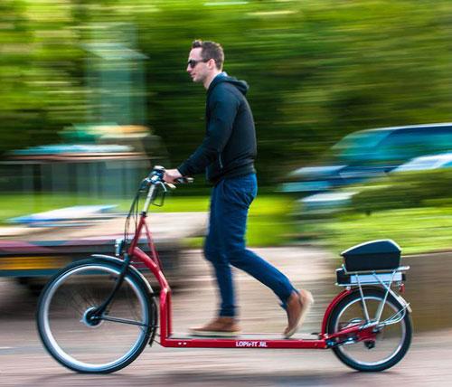 World's First Walking Bike