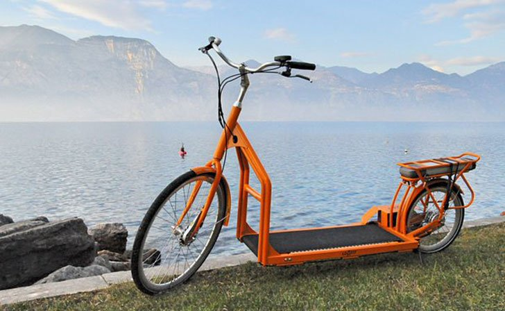 World's First Walking Bike