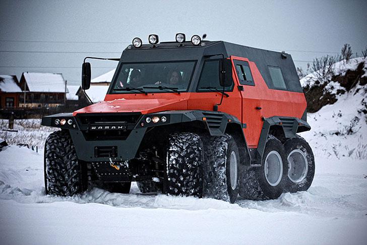 8x8 All Terrain Vehicle shaman