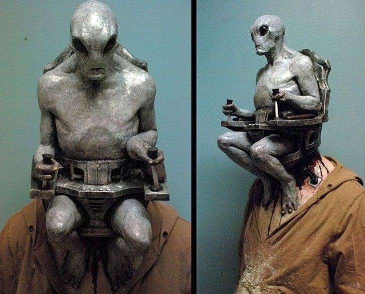Alien Mind Control Mask