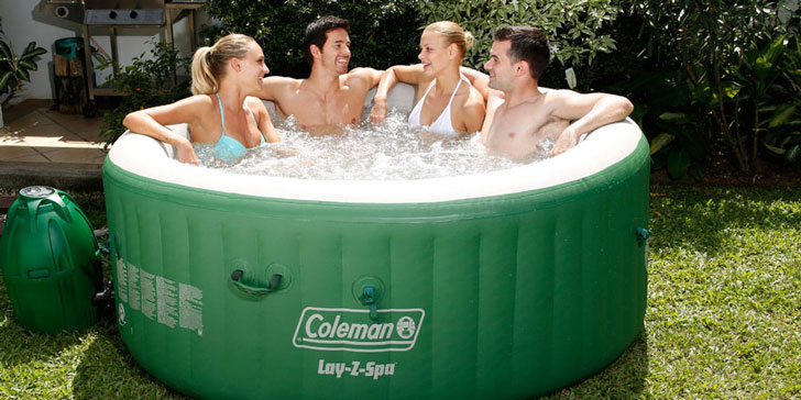 Relaxing Inflatable Hot Tub Spa Pool Awesome Stuff 365