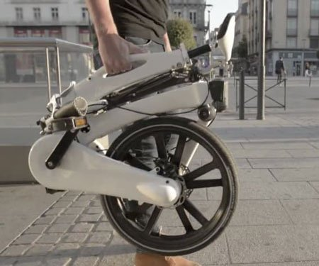 Easy-To-Carry Folding Bike