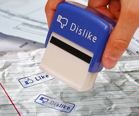 Facebook Like & Dislike Stamps