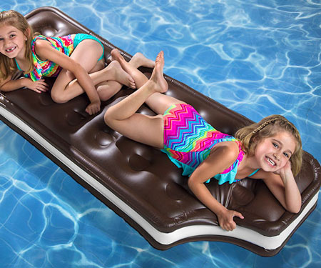 Ice Cream Sandwich Pool Float