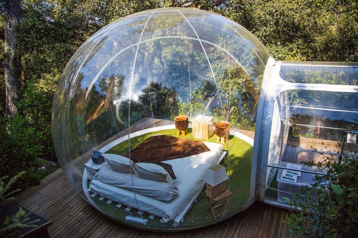 Image result for bubble tent