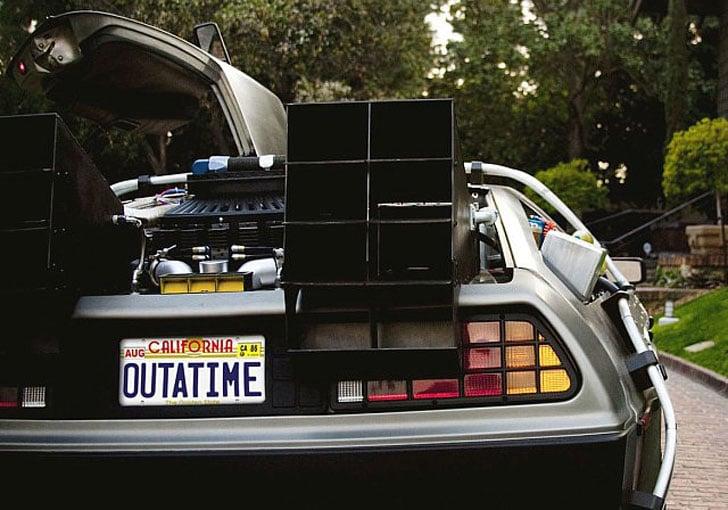 Replica Back to the Future Car