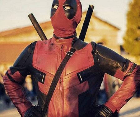 Replica Deadpool Motorbike Suit