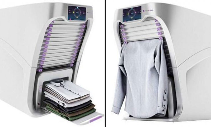 Robotic Clothes Folding Machine