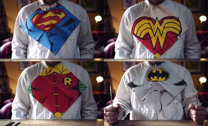 Superhero Napkins