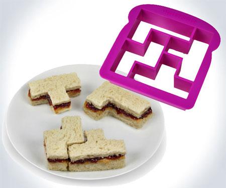 Tetris Sandwich Cutter