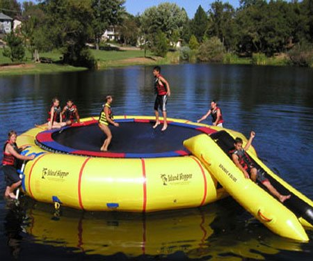 20 Foot Water Trampoline