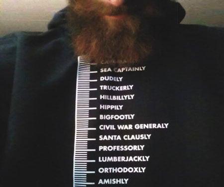 Beard Measurement Chart T-Shirt