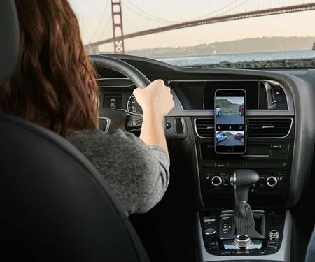 Car Rear-View Smartphone Camera