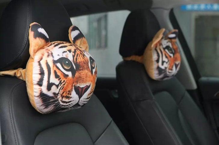 Cat and Dog Headrest Car Pillows