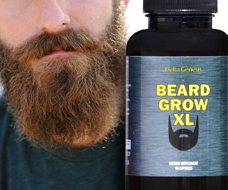 Facial Hair Growth Supplement