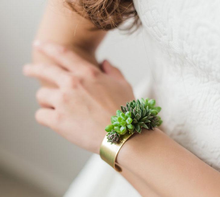 Living Succulent Jewelry