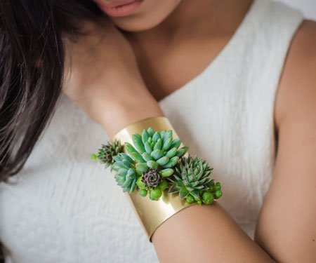 Living Succulent Jewelry