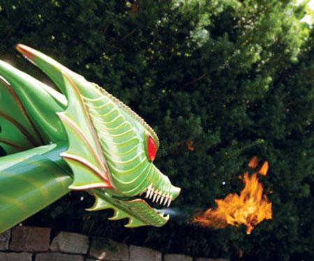 R/C Flying Fire Breathing Dragon