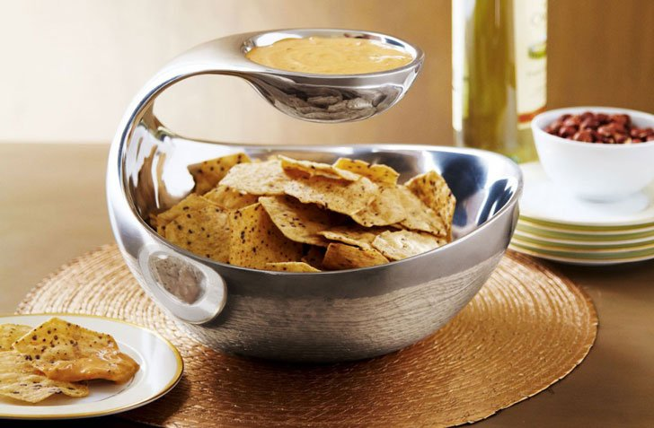 Scoop-Chip-and-Dip-Bowl- awesome kitchen gadgets