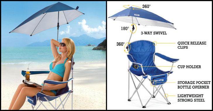 Sun Umbrella Chair