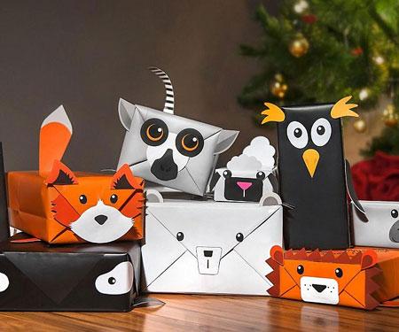 Animal Gift Wrap Paper