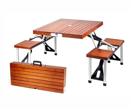 Picnic Table Brief Case