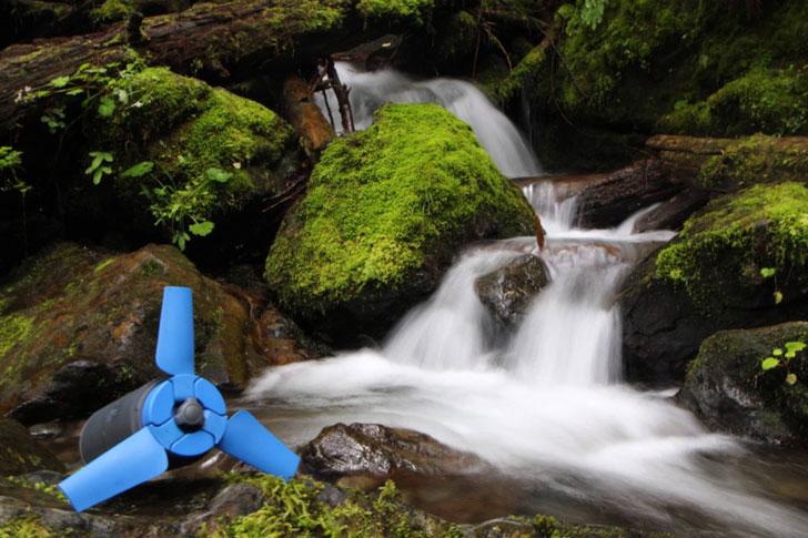 Portable Water Power Generator Estream