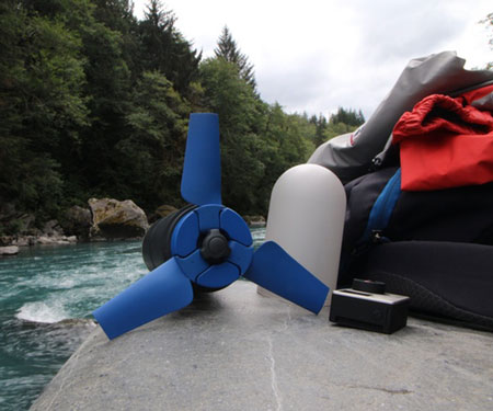Portable Water Power Generator Estream